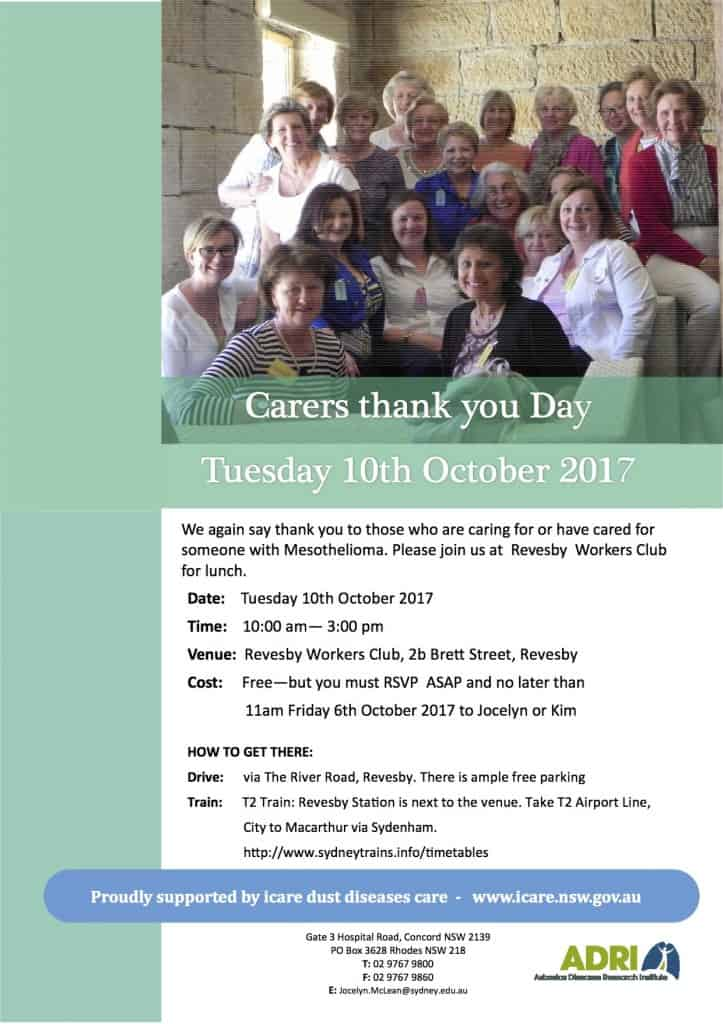 Carers Day 10 October 2017
