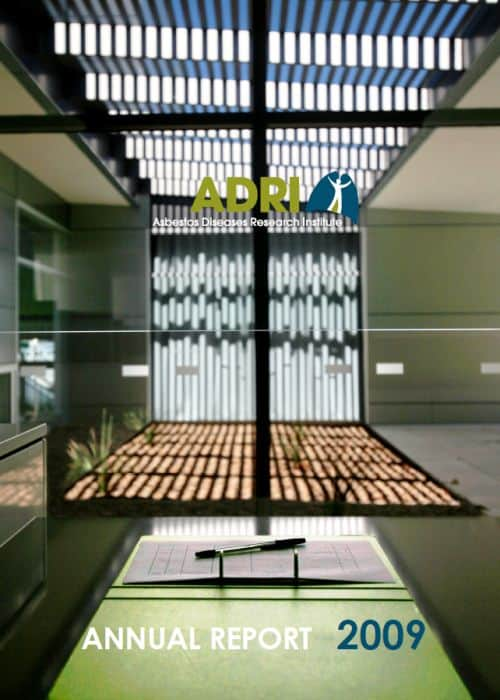 ADRI Annual Report 2009