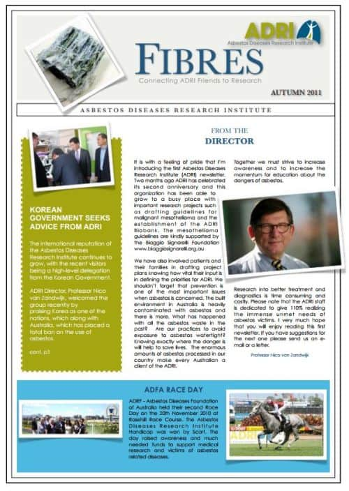 Autumn Newsletter 2011