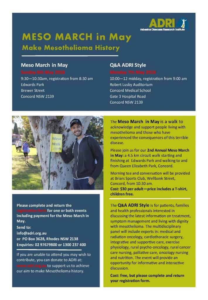 Meso March in May and QA Flyer Page 1