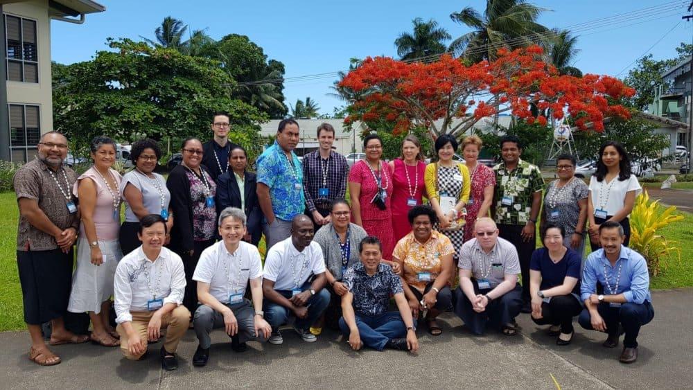 Asbestos-related Diseases training workshop Suva Fiji