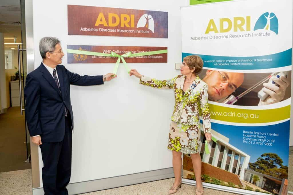 Announcement of WHO and ADRI Collaborating Centre Governor