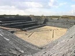 Asbestos Landfill site