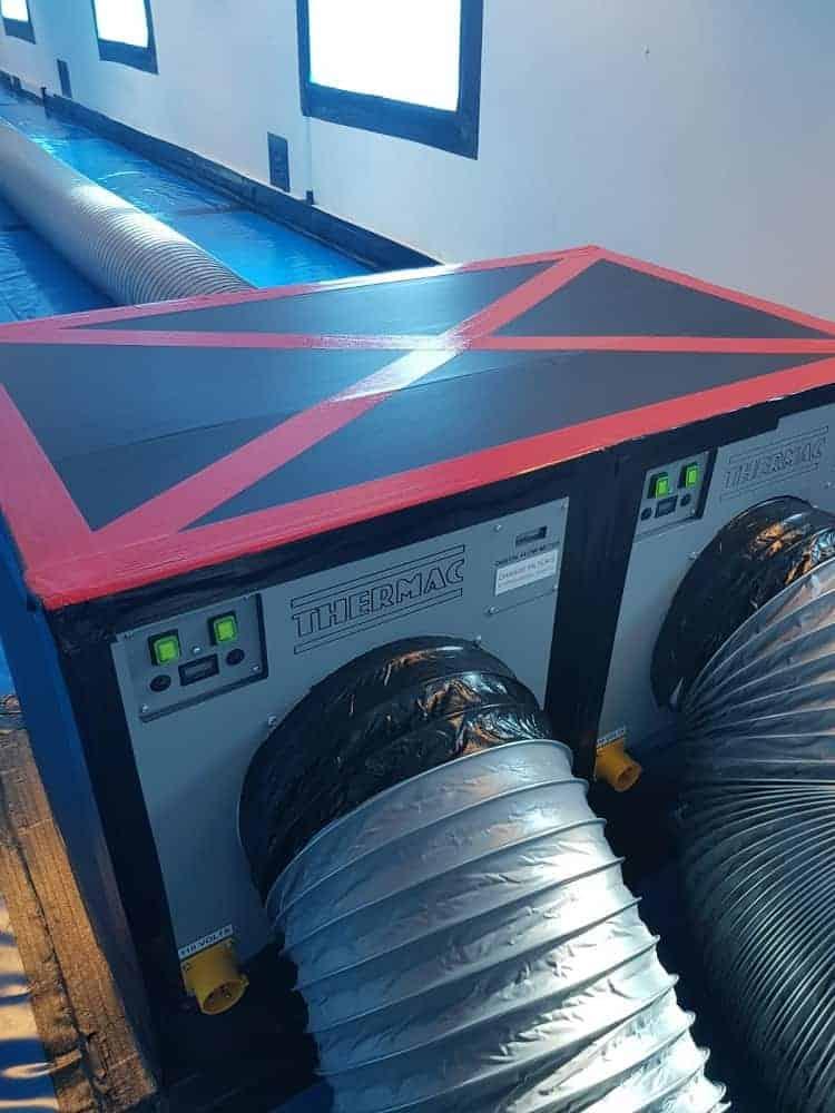 Negative Air Pressure Unit (NPU)